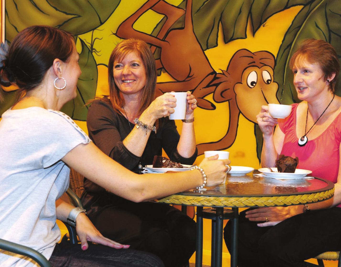 Jungleland Little Chimps Cafe